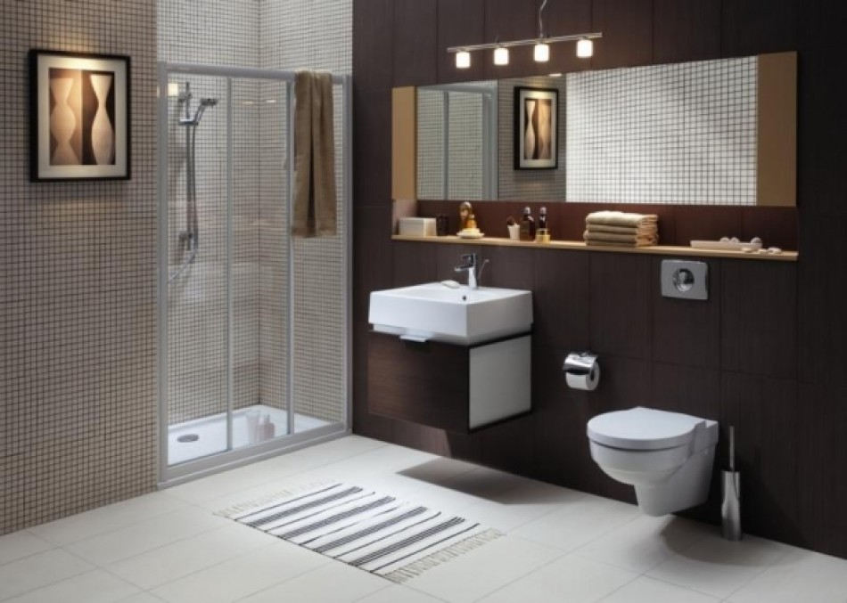 Aran acja azienki zdj cia e instalacje for Latest bathroom colours 2016
